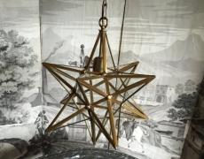 Lanterna stella brunita cod 165
