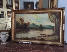 Dipinto orientalista cod 361