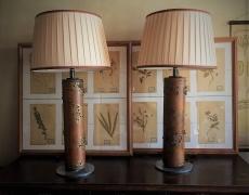 Coppia grandi lampade