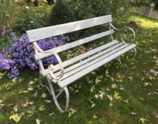 Panca da giardino edoardiana